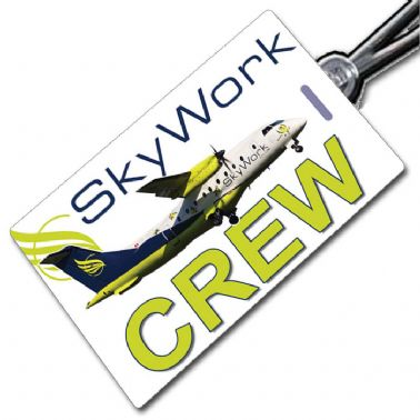 Skywork Dornier 328 crew tag